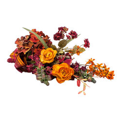 Fall Bouquet Arrangement - Enjoy the rich, robust colors of autumn without ever losing a single petal. This glorious, graceful arrangement is so natural looking, you may have picked it from your garden just moments ago.