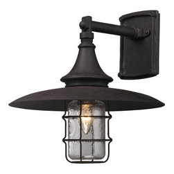 "Troy Lighting - Troy Lighting B3221 Allegheny 1 Light 13"" Dark Sky Outdoor Wall Sconce - Troy Lighting B3221 Allegheny 1 Light 13"" High Dark Sky Outdoor Wall SconceThe Allegheny Collection of exterior fixtures feature an industrial style and sturdy craftsmanship.Troy Lighting B3221 Features:"