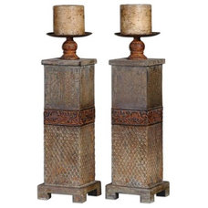 Mediterranean Candleholders by The Classy Cottage