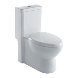 Ariel - Ariel Royal CO1037 Dual Flush Toilet 28x14x30 - Ariel cutting-edge designed one-piece toilets with powerful flushing system. It's a beautiful, modern toilet for your contemporary bathroom remodel.
