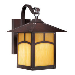 Vaxcel Lighting - Vaxcel Lighting TL-OWD090 Taliesin 1 Light Outdoor Wall Sconce - Features: