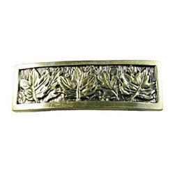 Sierra Lifestyles - Leaves Pull - Antique Brass (SIE-681422) - Leaves Pull - Antique Brass