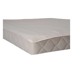 Bio Sleep Concept - Washable Quilted Cotton Mattress Pad, Twin - Our Washable Quilted Cotton Mattress Pad are the best available non-toxic alternative to toxic synthetic mattress covers. Great for children and adults. These pads absorb liquid naturally to help protect the mattress and can be machine washed in cold water.