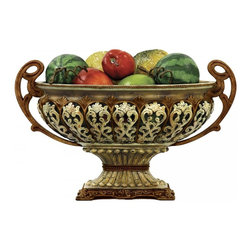 Joshua Marshal - Sheaffer Faux Alabaster Display Bowl - Sheaffer Faux Alabaster Display Bowl