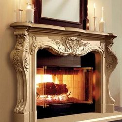 Cast Stone Fireplaces - Continental Cast Stone Manufacturing, Inc.