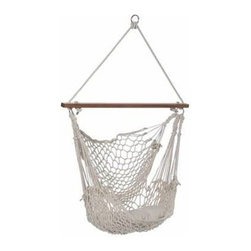Palmetto Rope Hammock Chair - Palmetto Rope Hammock Chair is a truly great combination of luxury and quality. It is made of extra soft, thick, cotton 8 mm rope cord for the perfect amount of support and comfort. This cotton rope chair will stretch and contours to the curves of your body making it irresistibly comfortable.