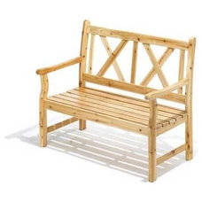 Traditional Outdoor Benches by Home 'n Gifts