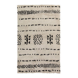 Ancient Designs Area Rug - Add the Ancient Designs Area Rug to your office or any room in your home that could use a pop of style. Hand woven in India from 100% wool, this ultra-plush rug makes a great addition to any modern d�cor, offering you quality without forsaking personality.