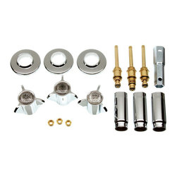 Danco - Danco Chrome Tub Shower Remodeling Kit For Sayco, 39620 - Danco Tub Shower Remodeling Kit For Sayco.
