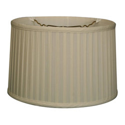 Royal Designs, Inc. - Shallow Drum Side Pleat Basic Lampshade - This Shallow Drum Side Pleat Basic Lampshade is a part of Royal Designs, Inc. Timeless Basic Shade Collection and is perfect for anyone who is looking for a traditional yet stunning lampshade. Royal Designs has been in the lampshade business since 1993 with their multiple shade lines that exemplify handcrafted quality and value.
