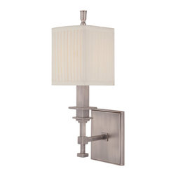 Hudson Valley Lighting - Hudson Valley Lighting 241-AN Berwick 1 Light Wall Sconces in Antique Nickel - This 1 light Wall Sconce from the Berwick collection by Hudson Valley Lighting will enhance your home with a perfect mix of form and function. The features include a Antique Nickel finish applied by experts. This item qualifies for free shipping!