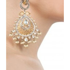 Baali with a drop shape filigree dangler available only at Pernia's Pop-Up Shop.