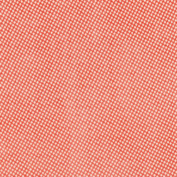 """Ballard Designs - Merrick Coral Fabric by the Yard - Content: 46% Rayon, 30% Polyester, 22% Cotton. Repeat: Non-railroaded fabric, 3/4"""" repeat. Care: Dry Clean. Width: 57"""" wide. Petite beige and coral lattice woven in plush rayon/cotton blend.  .  .  .  . Because fabrics are available in whole-yard increments only, please round your yardage up to the next whole number if your project calls for fractions of a yard. To order fabric for Ballard Customer's-Own-Material (COM) items, please refer to the order instructions provided for each product.Ballard offers free fabric swatches: $5.95 Shipping and Processing, ten swatch maximum. Sorry, cut fabric is non-returnable."""