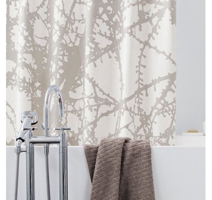 Larch shower curtain