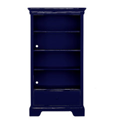 youngAmerica - All Seasons Bookcase - True Blue Weathered Finish - Bookcases are talented multi ...
