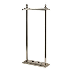IMAX CORPORATION - Debonair Walking Stick Stand - Store walking sticks in style with this chrome-look stand. Find home furnishings, decor, and accessories from Posh Urban Furnishings. Beautiful, stylish furniture and decor that will brighten your home instantly. Shop modern, traditional, vintage, and world designs.