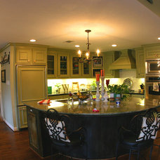 Contemporary Kitchen Islands And Kitchen Carts by Max Marble & Granite, Inc.