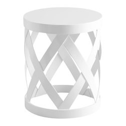 Cyan Design - Warwick Table - Warwick table - white