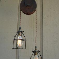 Rustic Lighting by AES Mobile Studios