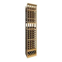 8' Four Column Display Wood Wine Rack - The 8' Four Column Display Wood Wine Rack is part of our 8' Series.