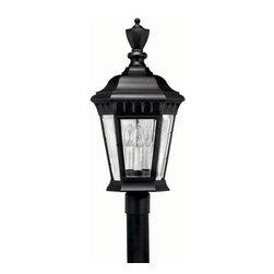 Hinkley Lighting - Hinkley Lighting 1707BK Camelot X Large Outdoor Lantern in Black - Hinkley Lighting 1707BK Camelot X Large Outdoor Lantern in Black