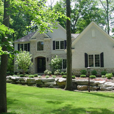 Traditional Exterior by 3 Pillar Homes