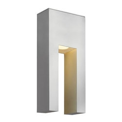 """Hinkley Lighting - Hinkley Lighting 1642-LED 13"""" Height ADA Compliant Dark Sky LED Outdoor Wall Sco - 13"""" Height ADA Compliant LED Dark Sky Outdoor Wall Sconce from the Atlantis CollectionFeatures:"""