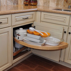 Traditional Kitchen Drawer Organizers by Kitchens Etc. of Ventura County