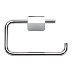 Atlas Homewares - Polished Chrome Element Toilet Paper Bar (ATHELETPCH) - Polished Chrome Element Toilet Paper Bar