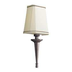 Kichler - Kichler Paramount One Light Royal Bronze Wall Light - 10656RBZ - This One Light Wall Light is part of the Paramount Collection and has a Royal Bronze Finish. It is Energy Efficient, and Title 24 Compliant.