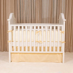 Jessica Simpson's Crib, Park Avenue Crib - The styling of the Park Avenue Crib is timeless, featuring great updates such as fixed side rails with complimentary teething rails, multiple levels for the mattress, and an optional toddler bed conversion kit to transition from crib to toddler bed.