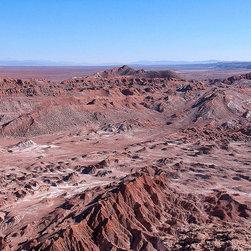Magic Murals - The Valley of the Moon Atacama Desert Wallpaper Wall Mural - Self-Adhesive - Mul - The Valley of the Moon Atacama Desert Wall Mural