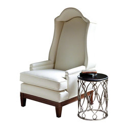 Global Views - Bonnet Chair- Muslin - Bonnet Chair-Muslin-(Naked)