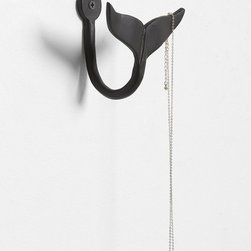 4040 Locust Whale Tail Hook - This brings in just a little bit of whimsy. Hooks are some of my favorite accessories because they're so versatile. Use them to hang towels in a bathroom, keys by a front door, etc.