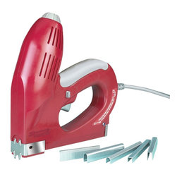 Arrow Fastener Company - Arrow Fastener Company 3-In-1 Electric Staple Gun (ET2025D) - Arrow Fastener Co. ET2025D 3-In-1 Electric Staple Gun Arrow Fastener Co. ET2025D 3-In-1 Electric Staple Gun Features: Drive power adjustment dial Heavy-duty Patented jam-proof mechanism Trigger safety lock All steel channel and track for durability