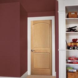 2-Panel Arch Authentic Wood Doors - 2-Panel Arch wood door