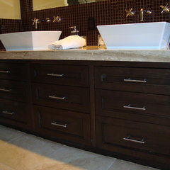 traditional bathroom vanities and sink consoles by Perfect Wood Solutions