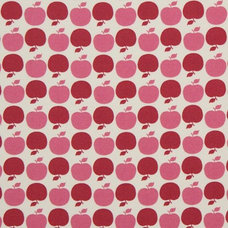 Fabric red apples Michael Miller fabric USA designer fabric