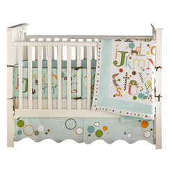 MiGi ABC 3-Piece Crib Bedding Set by Bananafish