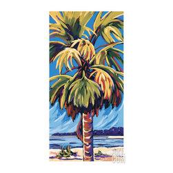 Condo Makeover - Framed palm for living room. Art.com