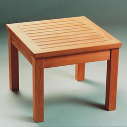 Anderson Teak - TB020MS 20-Inch Mini Side Table - This Mini Side Table is simple, straightforward and sturdy. Strong enough to sit on,