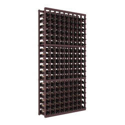 Wine Racks America - 9 Column Standard Wine Cellar Kit in Redwood, Burgundy + Satin Finish - A 9 column solution from our most popular style of wine racking. Completely solid assembly to withstand extensive use. We guarantee it. All the edges of our products are softened to ensure you won't get nicks or splinters, like you will from budget brands. You'll be satisfied. We guarantee that, too.