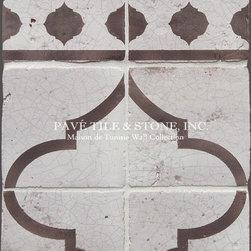 Maison de Tunisie Vintage Glazed Wall Tile - Pavé Tile & Stone, Inc.