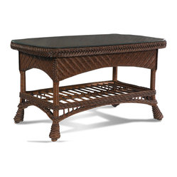 Casablanca Wicker Rattan Coffee Table