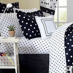 Dot2Dot Sheet Set - I am definitely getting a set of these black and white polka dot sheets!