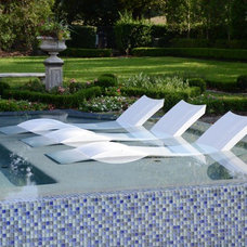 Contemporary Outdoor Chaise Lounges by PatioGate