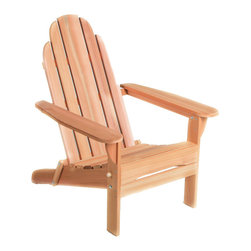 All Things Cedar - All Things Cedar FA20U Folding Andy Chair - Ideal for the beach, cottage or even a parade - easily folded, lightweight, portable. Folds up to less than 8 inches!    Dimensions:   31 x 35 x 38 in. (w x d x h)