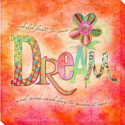 None - Connie Haley 'Dream' Canvas Giclee Art - Artist: Connie Haley Title: Dream Product type: Gallery-wrapped giclee art