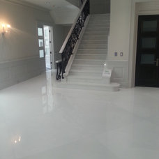 Traditional Staircase by Costa Marble & Granite