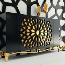 Eclectic Buffets And Sideboards by Macral Design Corp